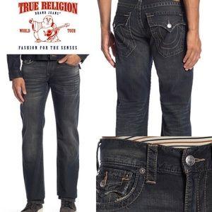 (NWT) TRUE RELIGION Straight Flap Pocket Jeans
